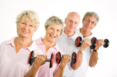 Seniors And Their Workouts