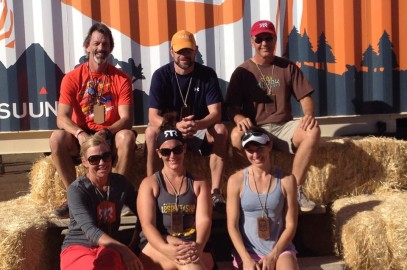 Team Longevity running the Ragnar Trail Relay at McDowell Mountain – November 2014